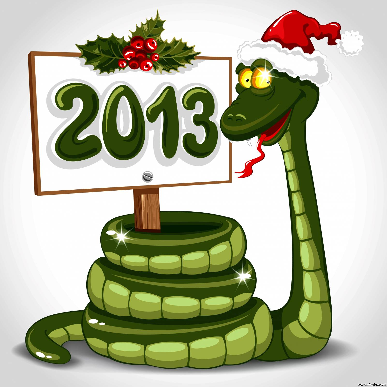 Смешные поздравление в год змеи