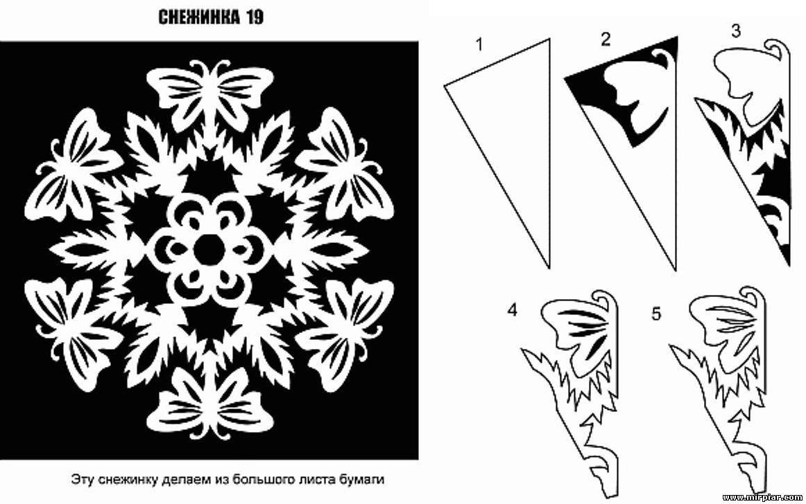 Как вырезать снежинки из бумаги - схемы, шаблоны, трафареты.  Трафареты снежинок. гномы из соленого теста поэтапно.