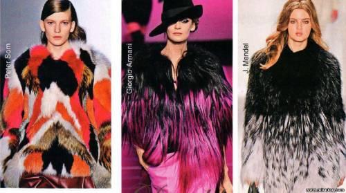 Модные тенденции Мех