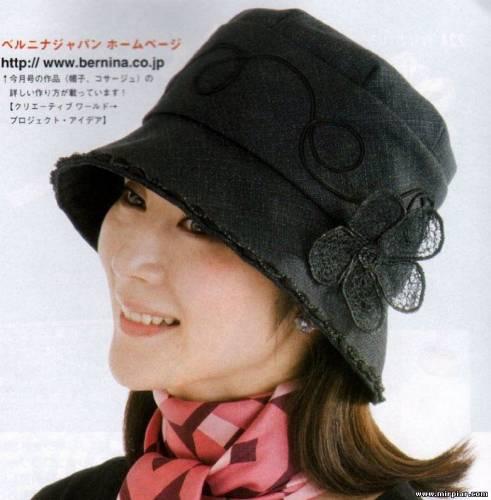 Выкройки к этим шляпкам.  Шляпы и шляпки на пике моды.