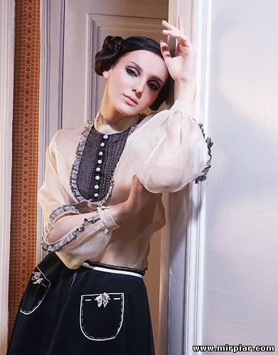 модная блуза 2012