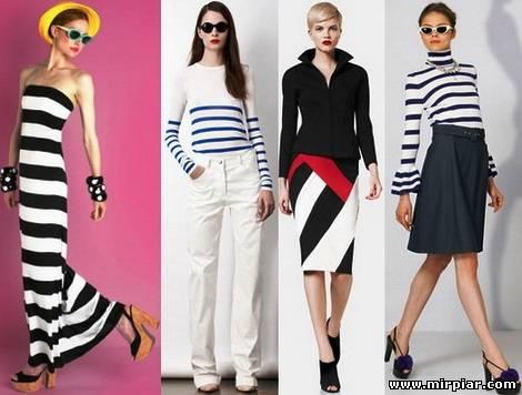 модные тренды лето 2012 морская тема