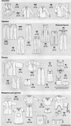 Бесплатные выкройки одежды Бурда 11 2009 база RedCafe