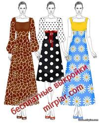 модные платья, квадратный вырез, платье корсаж, платья, free pattern, выкройка платья, бесплатные выкройки, pattern sewing, Dress, шитье, выкройки, шитье