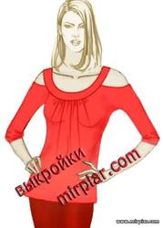 выкройка туники, выкройка топа, free pattern, выкройка, pattern sewing, вырезы на плечах, модные топы, выкройки скачать, шитье, выкройки бесплатно, с открытыми плечами, готовые выкройки, летний топ, мода