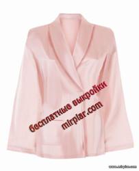 free pattern, кимоно, пижама, пижамная блуза, pattern sewing, белье, выкройки скачать, одежда для дома, скачать, шитье, готовые выкройки, выкройки бесплатно, блузы