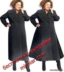 free pattern, большие размеры, выкройка пальто, мода плюс, выкройка жакета, шитье, для полных, pattern sewing, мода Plus, выкройки скачать, шитье