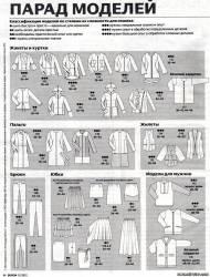 Бесплатные  выкройки одежды Бурда 12 2012 база RedCafe