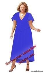 скачать бесплатные выкройки платья с крылышками больших размеров