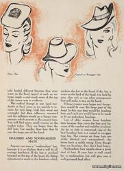 Старинные шляпки с выкройками, ретро шляпки, книга Vee Walker Powell &
