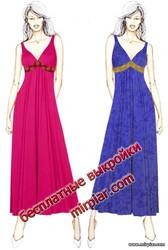 вечернее платье или сарафан выкройка