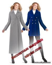 скачать бесплатные выкройки пальто и полупальто