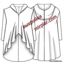 free pattern, выкройки бесплатно, выкройка пальто, pattern sewing, выкройка накидки,шитье