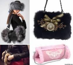 Тренд сезона зима 2014, оригинальная и удобная сумка-муфта своими руками.