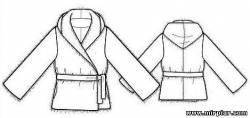Меховая куртка Выкройки бесплатно