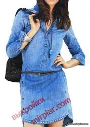 платье рубашка, ПЛАТЬЯ, dresses, модное платье, pattern sewing, выкройки платьев, джинсовый стиль, выкройки скачать, выкройка, шитье, выкройки бесплатно, free pattern, готовые выкройки