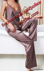 пижама выкройка брюк пижамные брюки