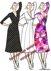 free pattern, ПЛАТЬЯ, платье, dresses, мода, pattern sewing, стиль ампир, выкройки платьев, выкройки скачать, выкройка, шитье, выкройки бесплатно, готовые выкройки