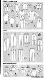 Бесплатные выкройки одежды Бурда 8 2008 база RedCafe
