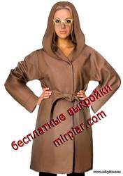free pattern, полупальто, длинная куртка, pattern sewing, выкройка куртки, выкройка полупальто, капюшон, выкройки скачать, шитье, готовые выкройки, выкройки бесплатно