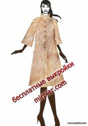 шуба, free pattern, меховое пальто, pattern sewing, выкройка пальто, выкройка шубы, выкройки скачать, выкройки бесплатно, шитье, готовые выкройки, выкройка