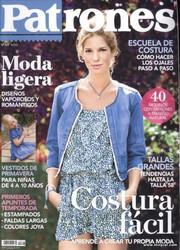 Patrones  Costura fácil 333  01 2014 с выкройками, скачать журналы