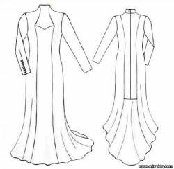 выкройки платьев