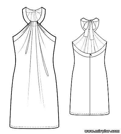 Выкройки юбки платья скачать бесплатно