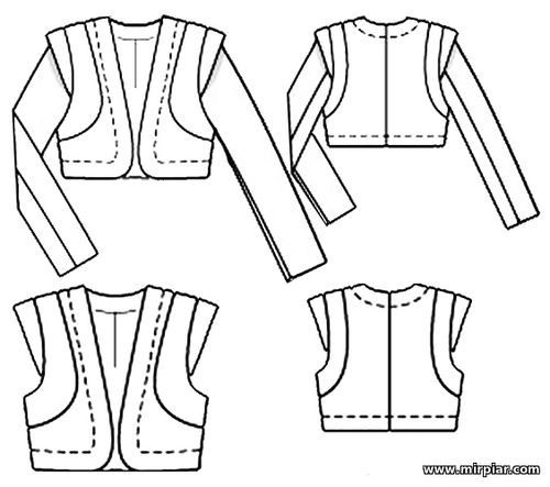 free pattern, жакет, выкройка жакета, болеро, выкройка болеро,pattern sewing,выкройки бесплатно, выкройки скачать, bolero, jacket выкройка,шитье,одежда,готовые выкройки,мода