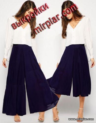 широкие брюки, выкройка брюк, pants, выкройки бесплатно, pattern pants, выкройка, free pattern, выкройки скачать, pattern sewing, готовые выкройки, Скачать, шитье