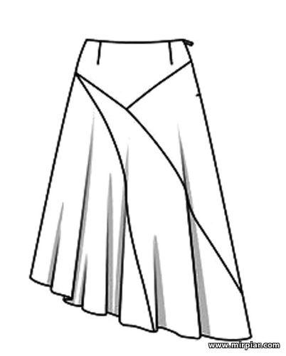 free pattern, выкройки скачать, pattern sewing, юбка, выкройка юбки, асимметричная юбка, шитье, готовые выкройки, cкачать, выкройки бесплатно