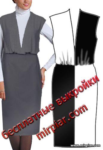 free pattern, платье, сарафан, платье-сарафан, pattern sewing, выкройки платьев, выкройки скачать, шитье, готовые выкройки, cкачать, ПЛАТЬЯ, выкройки бесплатно