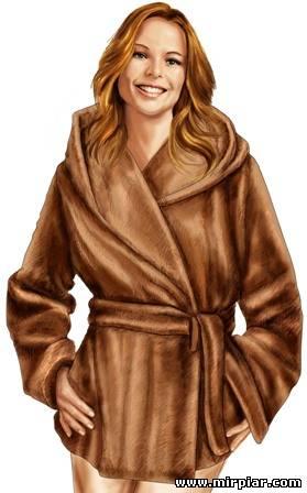 Шьём красивую меховую куртку 20289