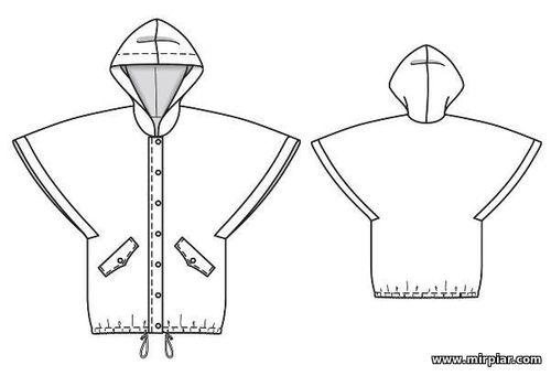 free pattern, накидка с капюшоном для девочки, накидка для девочки, выкройка, детские выкройки, pattern sewing, дети, шитье, детская одежда, для детей