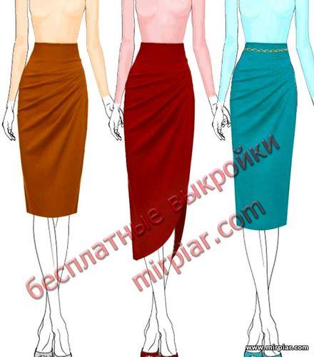 pattern sewing, драпировка, бесплатные выкройки, юбка, выкройки бесплатно, ЮБКИ, модные юбки, готовые выкройки, шитье, free pattern, юбка с асимметричной драпировкой