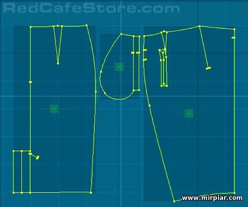 бесплатные выкройки юбки карандаш с имитацией запаха