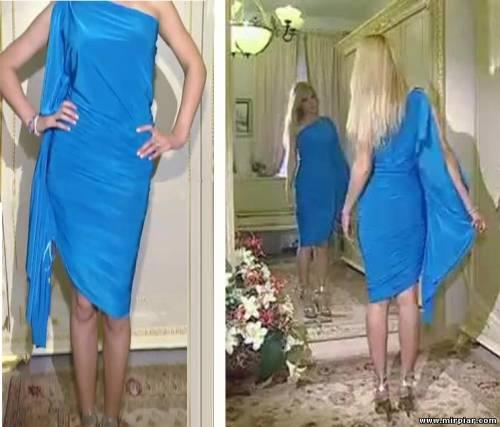 Шьем модное платье за 10 минут