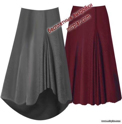 free pattern, юбка, dresses, мода, pattern sewing, выкройки юбок, выкройки скачать, выкройка, годе, шитье, выкройки бесплатно, готовые выкройки