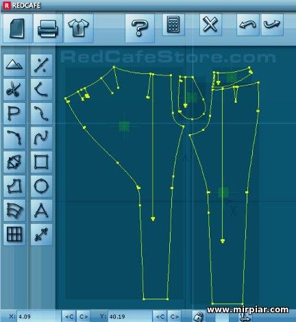 женские брюки с запахом выкройка