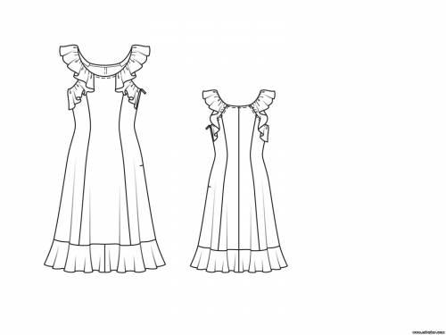 free pattern, выкройки скачать, Скачать, шитье, летнее платье выкройка, рукоделие, Бурда выкройки, Pattern, выкройки RedCafe, выкройки бесплатно