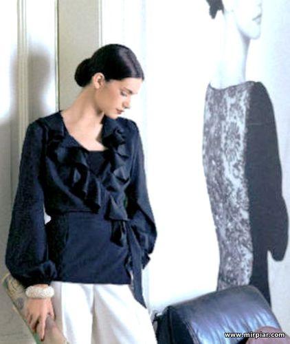 Блузка, free pattern, блузка с запахом, выкройка блузки, pattern sewing, выкройки скачать, шитье, готовые выкройки, выкройки бесплатно