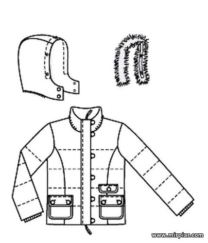 free pattern, куртка, выкройка куртки, жилет, pattern sewing, готовые выкройки, выкройки скачать, шитье, выкройки бесплатно, Скачать