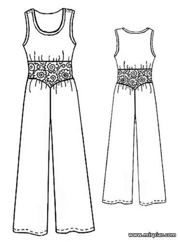 free pattern, комбинезон, выкройка комбинезона, pattern sewing, выкройка, выкройки скачать, выкройки бесплатно, готовые выкройки, раскрой одежды, Скачать, шитье