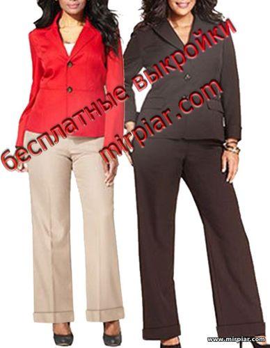 брюки, free pattern, женские брюки, pattern sewing, выкройка брюк, pants, pattern pants, большие размеры,выкройки скачать, шитье, Скачать, готовые выкройки, раскрой одежды, выкройки бесплатно