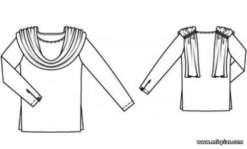free pattern, Блузка, pattern sewing, выкройка блузки,выкройки скачать, Скачать, шитье, готовые выкройки, выкройки бесплатно