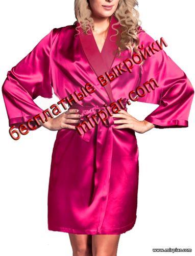 free pattern, выкройки скачать, халат, кимоно, шитье, pattern sewing, скачать, одежда для дома, готовые выкройки