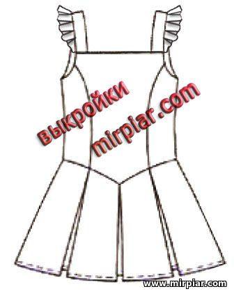 выкройка школьной формы, одежда для детей, шитье, выкройки бесплатно