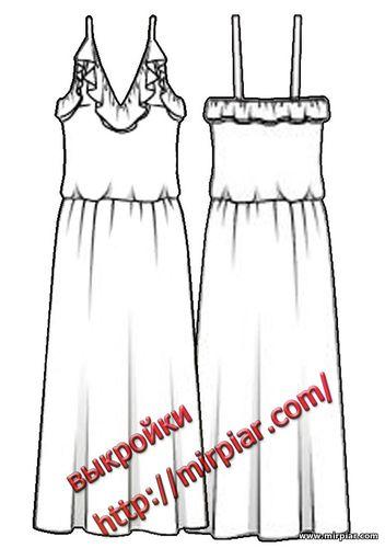 free pattern, ПЛАТЬЯ, платье, dresses, сарафан, мода, pattern sewing, выкройки платьев, платье с воланом, выкройки скачать, выкройка, шитье, выкройки бесплатно, готовые выкройки
