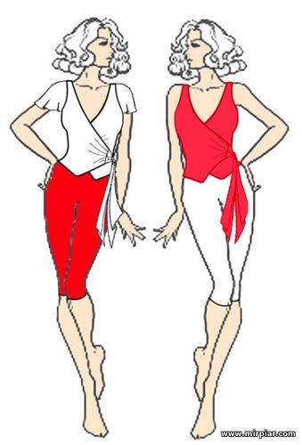 бесплатные выкройки летней блузы