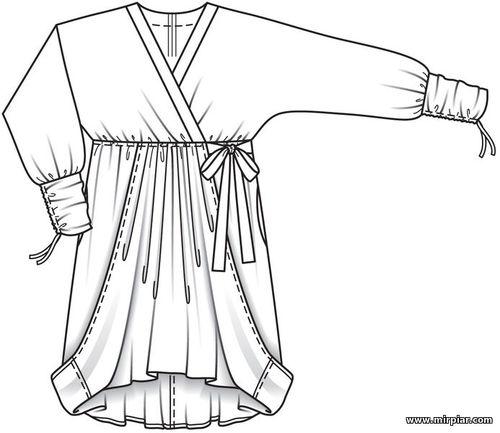 free pattern, туника, выкройка туники,pattern sewing,большие размеры,мода Plus,выкройки бесплатно, выкройки скачать, женская одежда, выкройка,шитье,одежда,готовые выкройки,мода